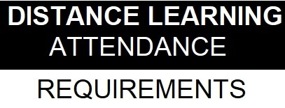 Distance Learning Attendance Requirements (English & Spanish)
