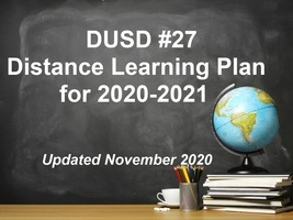 Distance Learning Plan for SY 2020-2021 - Updated November 2020